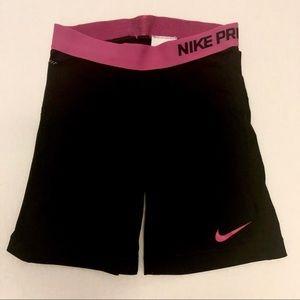 Nike pro compression shorts black xsmall